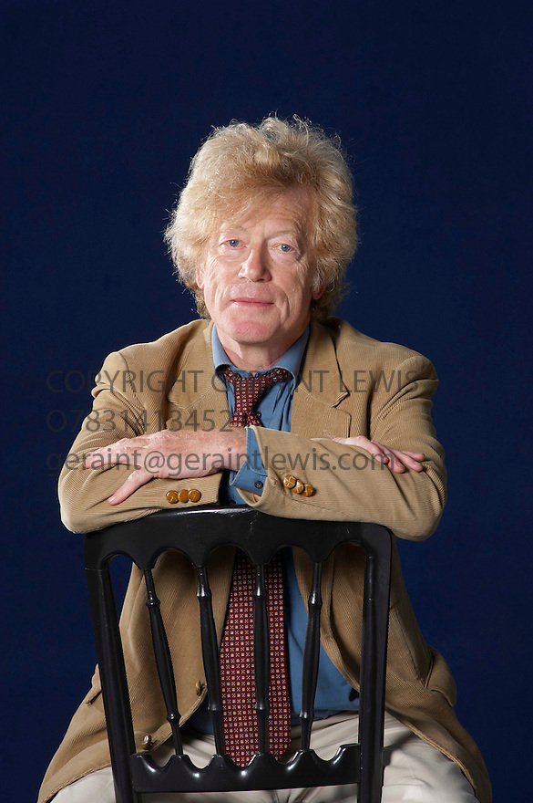 Roger Scruton,writer,philosopher and Right Wing Thinker    at The Edinburgh International  Book Festival 2010 .CREDIT Geraint Lewis