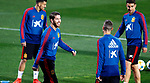 Spanish Sergio Ramos during the training of the spanish national football team in the city of football of Las Rozas in Madrid, Spain. March 18, 2019. (ALTERPHOTOS/Manu R.B.)