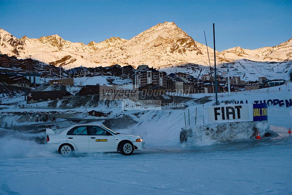 Europe/France/Rhone-Alpes/73/Savoie/Val-Thorens : Ecole de Pilotage sur Glace
