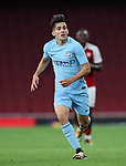 Manchester City's Lorenzo Gonazalez in action during the premier league 2 match at the Emirates Stadium, London. Picture date 21st August 2017. Picture credit should read: David Klein/Sportimage