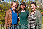 Women in Media: Attending the Women in Media opening at Kilcooly's Country House hotel on Saturday afternoon last were Lisa Fingleton ,Ballybunion,  Dr. Aoibhinn Ni Shuilleabhain & Aoife Fitzmaurice, Tralee.