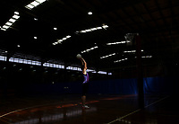 25.08.2017 Silver Ferns Bailey Mes during at the Silver Ferns training in Brisbane. Mandatory Photo Credit ©Michael Bradley.