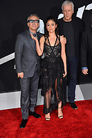 LOS ANGELES, CA. February 05, 2019: Christoph Waltz, Rosa Salazar &amp; James Cameron at the premiere for &quot;Alita: Battle Angel&quot; at the Regency Village Theatre, Westwood.<br /> Picture: Paul Smith/Featureflash
