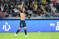 JOIE - 11 ANGEL DI MARIA (PSG)<br /> Shenzen <br /> 03/08/2019 Football Supercoppa di Francia 2019/2020 <br /> PSG Paris Saint Germain - Rennes <br /> Foto Philippe LECOEUR / Panoramic/insidefoto <br /> ITALY ONLY