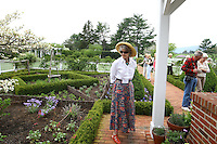 Virginia Garden tour in Charlottesville, VA.