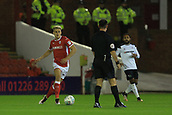 12th September 2017, Oakwell, Barnsley, England; Carabao Cup, second round, Barnsley versus Derby County; Brad Potts of Barnsley FC runs through with the ball