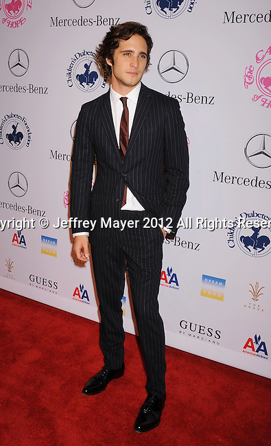 BEVERLY HILLS, CA - OCTOBER 20: Diego Boneta arrives at the 26th Anniversary Carousel Of Hope Ball presented by Mercedes-Benz at The Beverly Hilton Hotel on October 20, 2012 in Beverly Hills, California.
