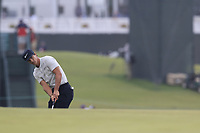 Thorbjorn Olesen (DEN) putts onto the 2nd green during Friday's Round 2 of the 118th U.S. Open Championship 2018, held at Shinnecock Hills Club, Southampton, New Jersey, USA. 15th June 2018.<br /> Picture: Eoin Clarke | Golffile<br /> <br /> <br /> All photos usage must carry mandatory copyright credit (&copy; Golffile | Eoin Clarke)