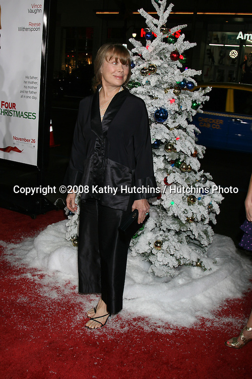 Sissy Spacek  arriving at  the  Premiere of Four Christmases at Grauman's Chinese Theater in Los Angeles, CA.November 20, 2008.©2008 Kathy Hutchins / Hutchins Photo....