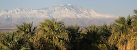 Stock - Palm Springs Mountains after Snow