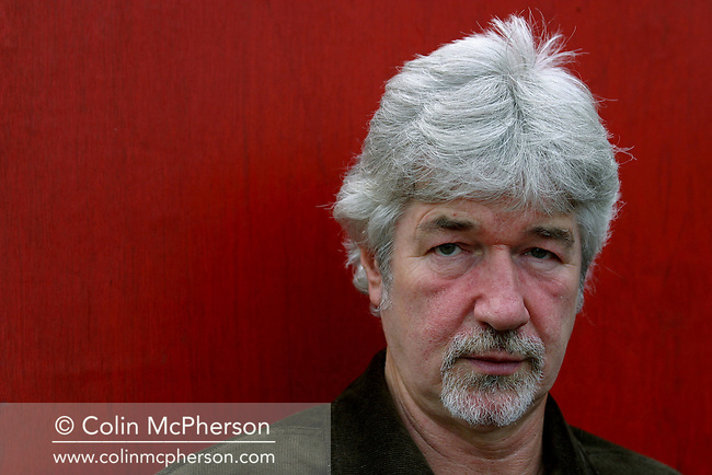 Liverpudlian playwright Willy Russell, creator of 'Shirley Valentine' and 'Educating Rita', pictured at the Edinburgh International Book Festival, where he talked about his work............
