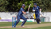 Issued by Cricket Scotland - Scotland V Afghanistan 2nd One Day International - Grange CC - Cross (left) and Coetzer - picture by Donald MacLeod - 10.05.19 - 07702 319 738 - clanmacleod@btinternet.com - www.donald-macleod.com