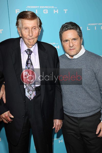 Sumner Redstone and Brad Grey<br />