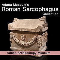 Pictures & Images of Roman Relief Sculpted  Sarcophagus of Adana Archaeology Museum -