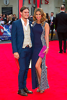 Ferne McCann and Charlie Sims arriving for the World Premiere of 'The Amazing Spider-Man 2' at Odeon Leicester Square, London. 10/04/2014 Picture by: Dave Norton / Featureflash