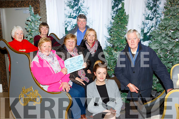 Muckross Community Assosciation are holding a Community Concert in the Killarney Oaks Hotel to raise funds for four defibilators for the area l-r: Breda Moriarty, Sheila Doona, Margaret Joy Eilis Fleming and Liam Kelly. Back row: Peig Coffey, Breda Daly and John Kelly