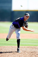 Colorado Rockies minor league pitcher Matt Carasiti #88 during an instructional league intrasquad game at the Salt River Flats Complex on October 5, 2012 in Scottsdale, Arizona.  (Mike Janes/Four Seam Images)