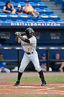 April 25 2010: Quincy Latimore (22) of the Bradenton Marauders during a game vs. the St. Lucie Mets  at Digital Domain Park in Port St. Lucie, Florida. St. Lucie, the Florida State League High-A affiliate of the New York Mets, won the game against Bradenton, affiliate of the Pittsburgh Pirates, by the score of 5-4  Photo By Scott Jontes/Four Seam Images