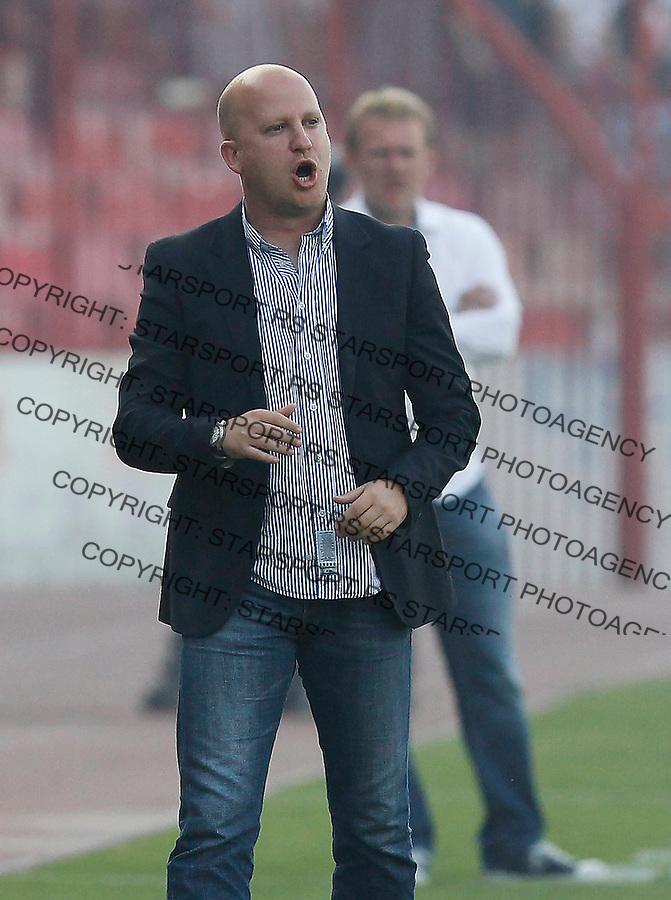 Fudbal, Jelen super liga, sezona 2011/12.Crvena Zvezda VS. Rad.Head coach Marko Nikolic.Belgrade, 12.05.2012..foto: Srdjan Stevanovic/Starsportphoto ©