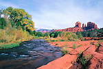 Cathedral Rock and Oak Creek, Red Rock Crossing, Sedona, AZ