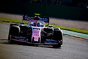17th March 2019, Melbourne Grand Prix Circuit, Melbourne, Australia; Melbourne Formula One Grand Prix, race day; The number 18 SportPesa Racing Point driver Lance Stroll during the race