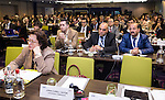 "BRUSSELS - BELGIUM - 24 November 2016 -- European Training Foundation (ETF) Conference on ""GETTING ORGANISED FOR BETTER QUALIFICATIONS"". -- Madlen Serban, Director ETF. -- PHOTO: Juha ROININEN / EUP-IMAGES"
