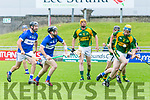 In Action Kilmoyley's Dougie Fitzell gets away from St. Brendan's John Egan in the Kilmoyley v St Brendans in the Garvey's Supervalu Senior County Hurling Championship 2017 Round 2A at Austin Stack Park on Saturday