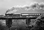 10-5-2015:  Engine 461 steams uphill over  &quot;Quagmire Viaduct' at Barraduff in County kerry on Sunday pulling several carriages of tourists bound for Cork. The train was part of the Railway Preservation Society of Ireland's 46th Irish Railway Heritage Weekend and took in Belfast, Cobh, Cork, Dublin, Killarney, Midleton and Whitehead.<br /> Featuring Picture by Don MacMonagle