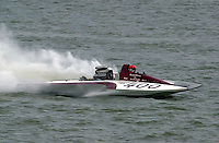 GP-400, Grand Prix class hydroplane.Rising Sun Regatta, Ohio River, Rising Sun, IN, USA 8-9 September,2001.Copyright©F.Peirce Williams 2001..F. Peirce Williams .photography.P.O.Box 455  Eaton, OH 45320 USA.p: 317.358.7326  e: fpwp@mac.com