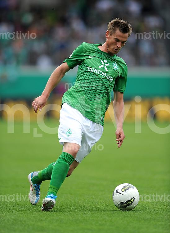 FUSSBALL   DFB POKAL   SAISON 2011/2012  1. Hauptrunde 1. FC Heidenheim - Werder Bremen              30.07.2011 Markus Rosenberg (SV Werder Bremen)