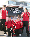 Andy Kirwan, Eddie McDonagh, Andrew McCann and Gary Dunne who are fighting on Saturday Night in Navan...Photo NEWSFILE/Jenny Matthews.(Photo credit should read Jenny Matthews/NEWSFILE)....This Picture has been sent you under the condtions enclosed by:.Newsfile Ltd..The Studio,.Millmount Abbey,.Drogheda,.Co Meath..Ireland..Tel: +353(0)41-9871240.Fax: +353(0)41-9871260.GSM: +353(0)86-2500958.email: pictures@newsfile.ie.www.newsfile.ie.FTP: 193.120.102.198.