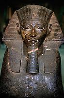 Ramses II statue, Egyptian Museum, Cairo, Egypt.
