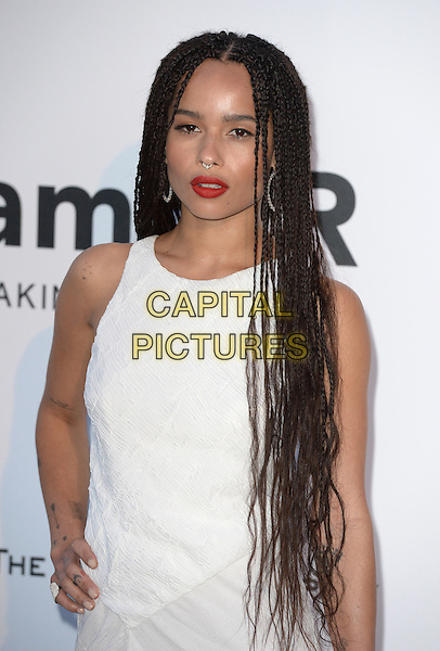 Zoe Kravitz - arrivals at amfAR&rsquo;s Cinema Agains Aids Gala at Hotel du Cap, Antibes during the Cannes Film Festival on May 21, 2015 in Cap d'Antibes, France.<br /> CAP/CAS<br /> &copy;Bob Cass/Capital Pictures