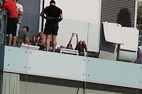 MAY 21 2013.ONE DIRECTION ENJOY BARCELONA BEACHES.Non Exclusive.Mandatory Credit: OHPIX.COM..Ref: OH_EU