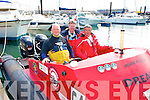 POWER BOATS: The crew of the Dreamer power boat from Kerry competing in the Power Boat Race as part of the Fenit Seabreeze Festival on Saturday l-r: Philip Fitzgibbon (pilot) Castlegregory, Brian Lynch (crew) Galway and Mike Shanahan (co-pilot), Tralee.
