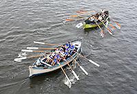 Nederland Zaandam 2016.  Stichting Zaanslag organiseert het eerste Midwinter Sprintkampioenschap op de Zaan.   Foto Berlinda van Dam / Hollandse Hoogte