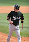 Josh Willingham of the Florida Marlins vs. the Houston Astros March 15th, 2007 at Osceola County Stadium in Kissimmee, FL during Spring Training action.  Photo copyright Mike Janes Photography 2007.