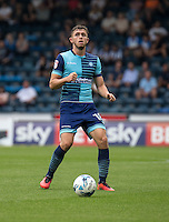 Dan Rowe of Wycombe Wanderers during the Sky Bet League 2 match between Wycombe Wanderers and Colchester United at Adams Park, High Wycombe, England on 27 August 2016. Photo by Liam McAvoy.