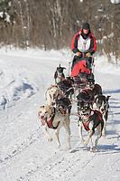 Musher Ken Chezik, 2007 Open North American Championship sled dog race (the world's premier sled dog sprint race) is held annually in Fairbanks, Alaska.