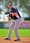 15 March 2009: Detroit Tigers' infielder Jeff Larish warms up prior to a Spring Training game against the Washington Nationals at Space Coast Stadium in Viera, Florida. The Tigers shut out the Nationals 3-0 in the Grapefruit League matchup. Mandatory Photo Credit: Ed Wolfstein Photo