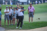 Shane Lowry (IRL) hits his second shot on 16 during round 2 of the Arnold Palmer Invitational at Bay Hill Golf Club, Bay Hill, Florida. 3/8/2019.<br /> Picture: Golffile | Ken Murray<br /> <br /> <br /> All photo usage must carry mandatory copyright credit (&copy; Golffile | Ken Murray)