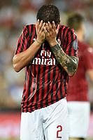 Davide Calabria<br /> Cesena 17-08-2019 Orogel Stadium <br /> Football Friendly Match Season 2019/2020 <br /> Cesena - Milan <br /> Foto Image Sport / Insidefoto