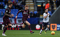 Bolton Wanderers' Erhun Oztumer breaks<br /> <br /> <br /> Photographer Andrew Kearns/CameraSport<br /> <br /> The EFL Sky Bet Championship - Bolton Wanderers v Swansea City - Saturday 10th November 2018 - University of Bolton Stadium - Bolton<br /> <br /> World Copyright © 2018 CameraSport. All rights reserved. 43 Linden Ave. Countesthorpe. Leicester. England. LE8 5PG - Tel: +44 (0) 116 277 4147 - admin@camerasport.com - www.camerasport.com
