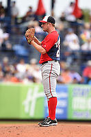 Washington Nationals pitcher Jordan Zimmermann (27) during a spring training game against the New York Mets on March 27, 2014 at Tradition Field in St. Lucie, Florida.  Washington defeated New York 4-0.  (Mike Janes/Four Seam Images)