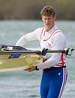 Caversham. Berkshire. UK<br /> Nick MIDDLETON. <br /> 2016 GBRowing European Team Announcement,  <br /> <br /> Wednesday  06/04/2016 <br /> <br /> [Mandatory Credit; Peter SPURRIER/Intersport-images]
