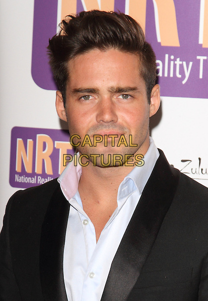 Spencer Matthews.Reality TV Awards at the Porchester Hall, London, England..August 30th 2012.headshot portrait black suit jacket blue shirt .CAP/ROS.©Steve Ross/Capital Pictures