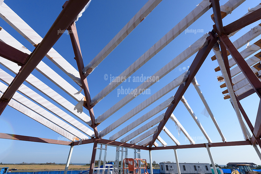 Meigs Point Nature Center at Hammonasset Beach State Park  <br /> Connecticut State Project No: BI-T-601<br /> Architect: Northeast Collaborative Architects  Contractor: Secondino & Son<br /> James R Anderson Photography New Haven CT photog.com<br /> Date of Photograph: 20 October 2015<br /> Camera View: 15