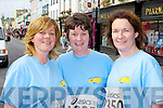 Maggie McAulliffe, Anne McCarthy and Eleanor O'Doherty Killarney who ran in the Killarney Womens mini marathon on Saturday..
