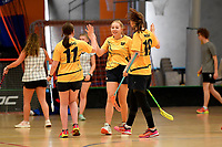 Floorball &ndash; New Zealand Secondary Schools Floorball Championships at ASB Sports Centre, Wellington, New Zealand on Sunday 31 March 2019. <br /> Photo by Masanori Udagawa. <br /> www.photowellington.photoshelter.com