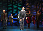 """Dick Latessa, Tony Goldwyn, Katie Finneran, Sean Martin Hingston<br />taking a bow on the  Opening Night Broadway performance Curtain Call for """"PROMISES, PROMISES"""" at the Broadway Theatre, New York City.<br />April 25, 2010"""